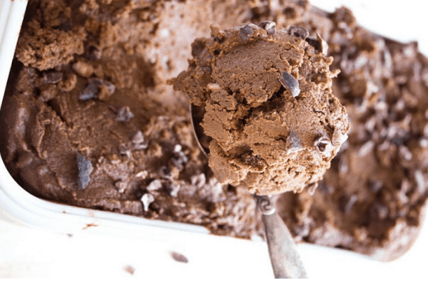 CHOCOLATE AVOCADO LOW CARB ICE CREAM
