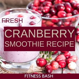 Fresh Cranberry Smoothie Recipe for a Healthy Breakfast