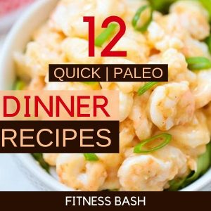 12 Quick Paleo Dinner Recipes for a Paleo Diet