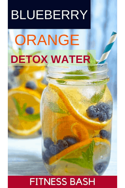 BLUEBERRY ORANGE DETOX WATER