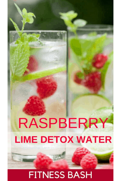 RASPBERRY LIME DETOX WATER