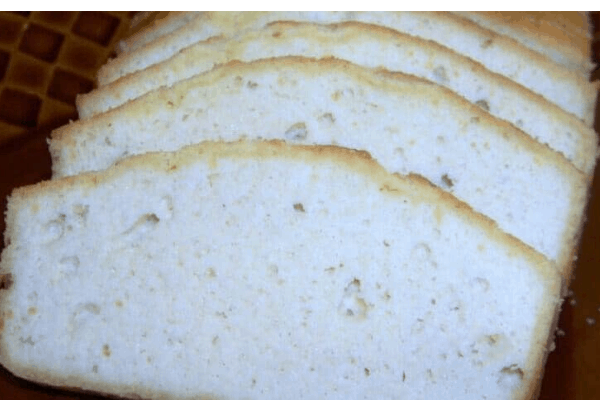 PLAIN LOW CARB KETO BREAD