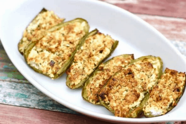 KETO JALAPENO POPPERS IN AIR FRYER