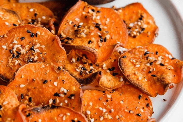 SWEET POTATO BAGEL