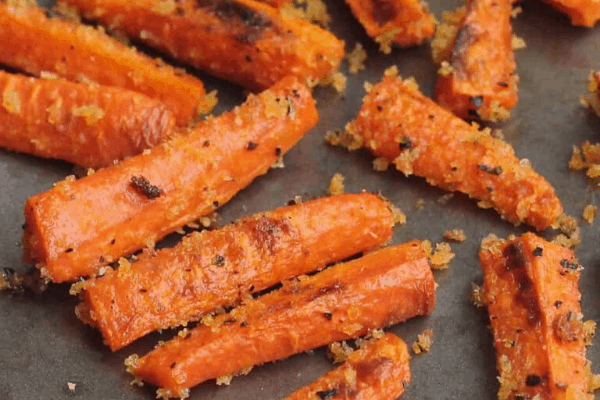 BAKED CARROT FRIES