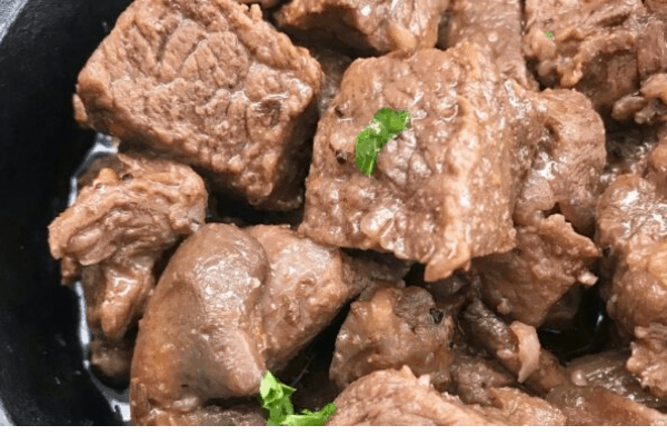 INSTANT POT KETO STEAK BITES