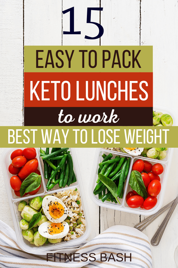 keto lunches pack