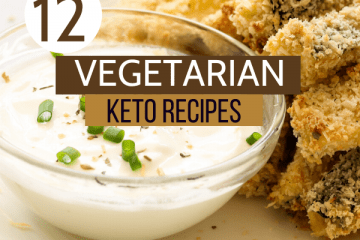 vegetarian keto recipes