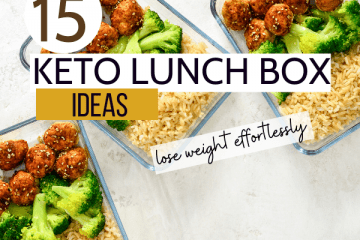 keto lunch box ideas