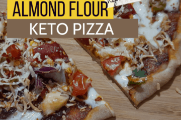 almond flour keto pizza crust