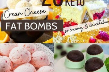 keto cream cheese fat bombs