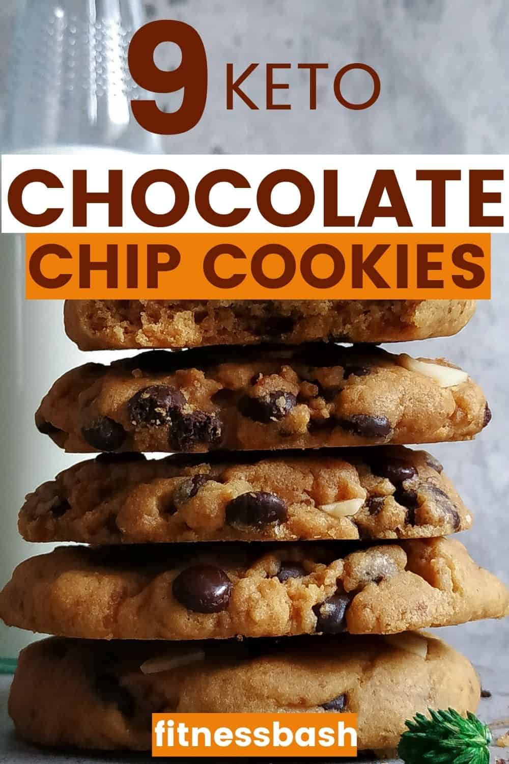 LOW CARB KETO CHOCOLATE CHIP COOKIES