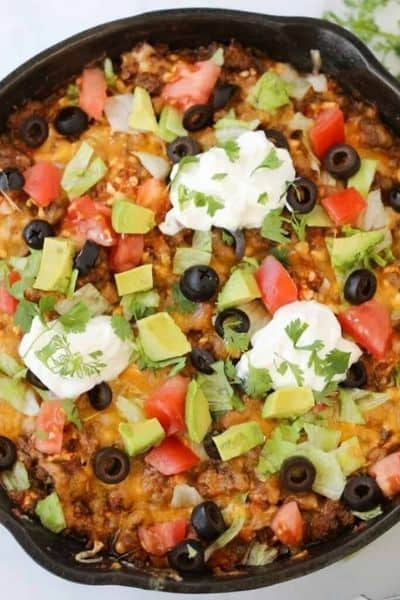 TACO CASSEROLE RECIPE WITH 5 INGREDIENTS