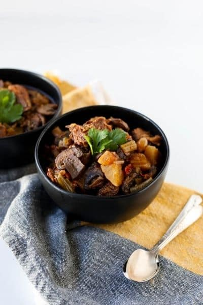 INSTANT POT BEEF STEW FOR KETO