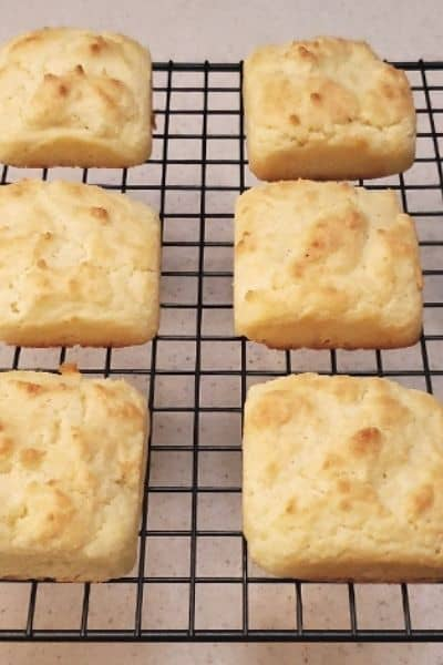 SOUR CREAM LOW CARB BISCUITS