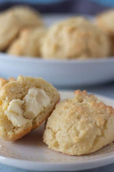 KETO FLOUR KETO BISCUITS