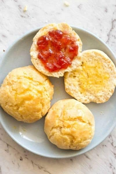 KETO ALMOND FLOUR BISCUITS