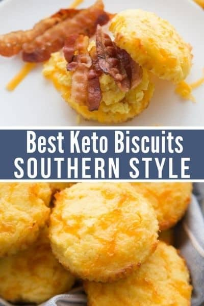 LOW-CARB KETO BISCUITS