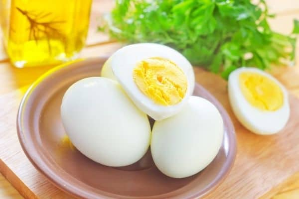 eggs high protein foods