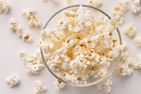 POPCORN WITHOUT OIL OR BUTTER