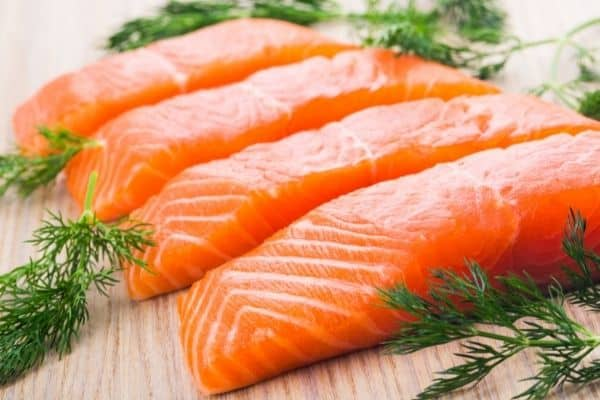 high protein foods salmon
