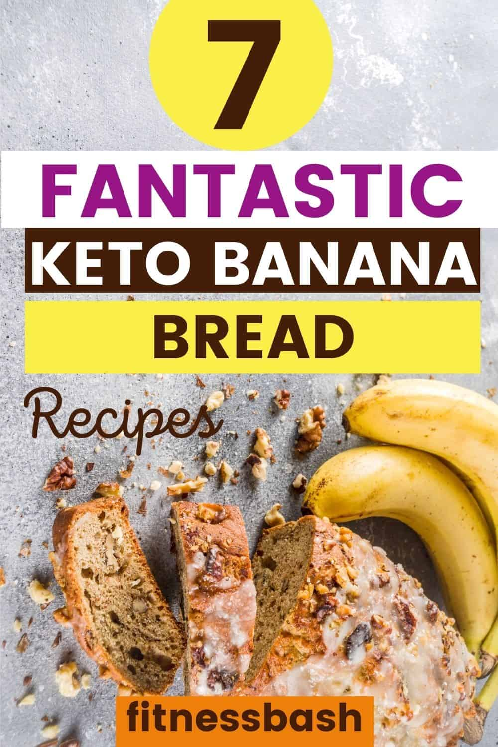 bread low-carb and keto with banana and almond flour